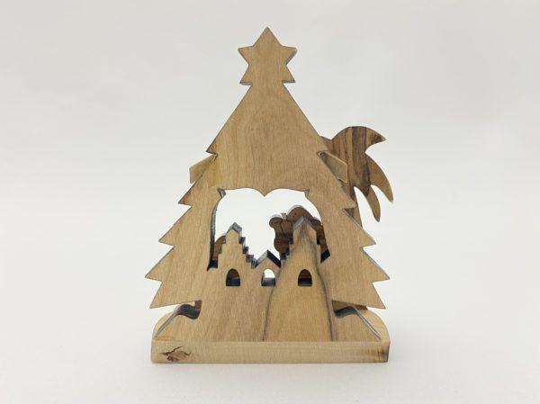 Small Countertop Nativity scene