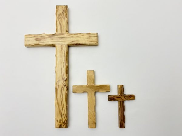 Plain Cross Hand Crafted from Olive Wood