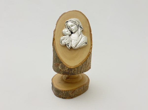 Virgin Mary Holding Baby Jesus Stand