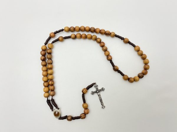 Hand Made Olive Wood Rosary
