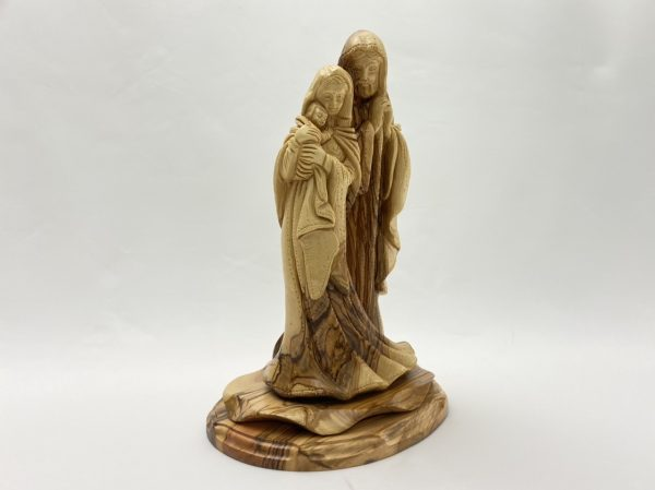 Holy Family Hand Carved in Bethlehem