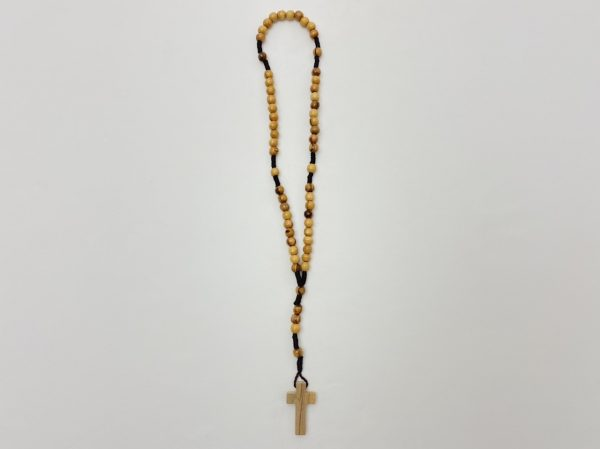 Small Olive Wood Rosary