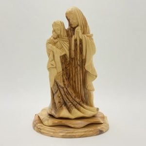 Holy Family Hand Carved in Bethlehem