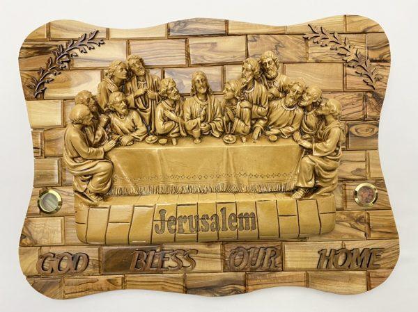 3D Wall Plaque of Last Supper