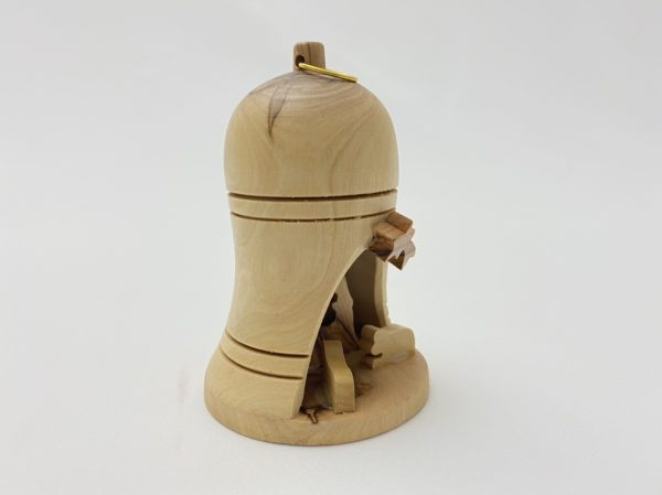 Christmas Bell Nativity Ornament