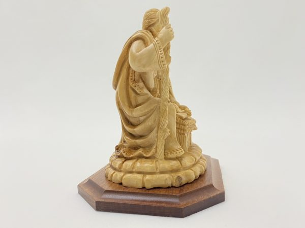 Holy Family Nativity Hand Crafted from Olive Wood