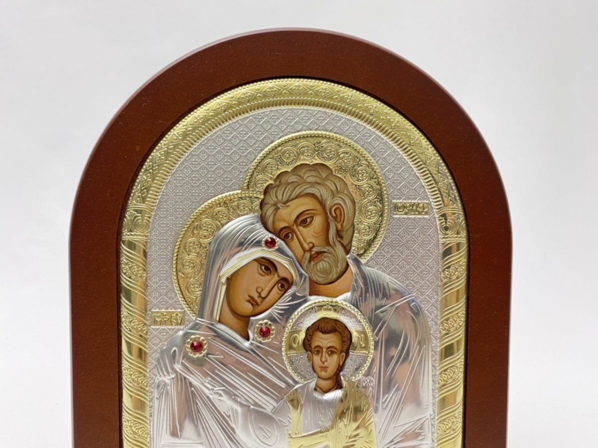 Holy Family Byzantine Icon
