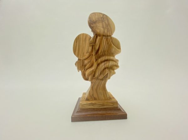 Floating Carving Of Holy Family Statue