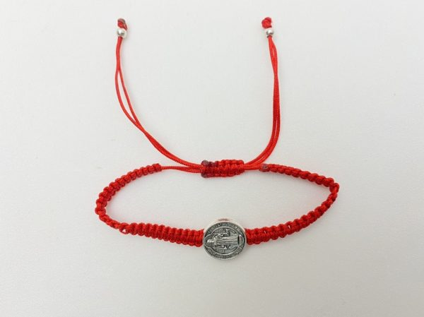 St.Benedict Medal on Adjustable Cord