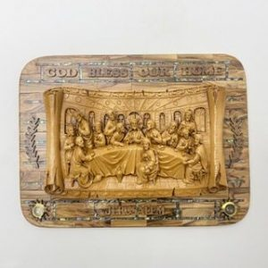 3D Wall Plaque of Last Supper